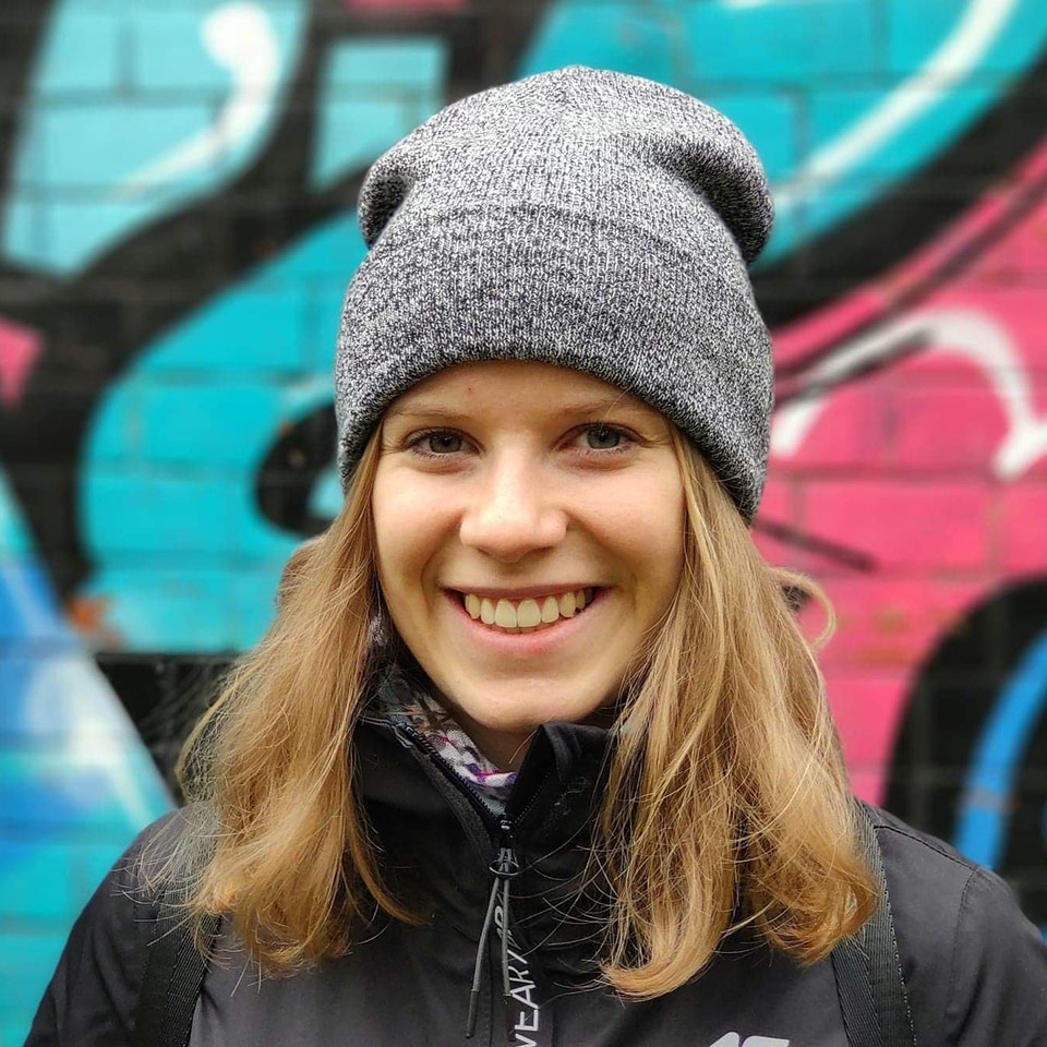 instruktorka jazdy na rolkach - Monika Piekut